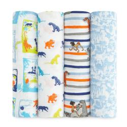 the jungle book classic swaddle set 4-pack