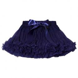 DOLLY by Le Petit Tom Dark Blue Snow Queen Pettiskirt