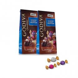 Wrapped Assorted Chocolate Truffles, Large Bags, Set of 2, 19 pc. each