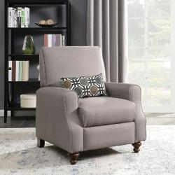 $410 off Shelby High Leg Recliner with Kidney Accent Pillow