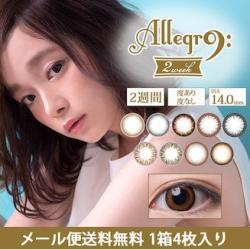 Allegro 2Week [1 Box 4 pcs × 4 boxes] / 2Weeks Disposal