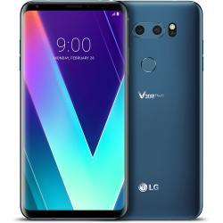 $330 off LG V30S ThinQ 128GB Smartphone (Unlocked, Glossy Moroccan Blue)