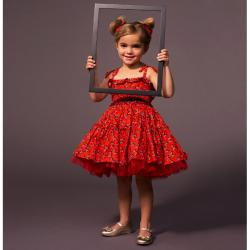 Minnie Mouse Petti Dress - Tutu Couture - Girls