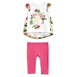 CAP SLEEVE TEE AND PANTS SET (0-24M)