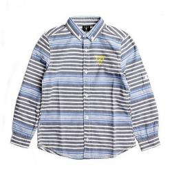 LONG-SLEEVE STRIPED SHIRT (8-18)