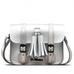 "7"" Iced Metallic Leather Satchel"
